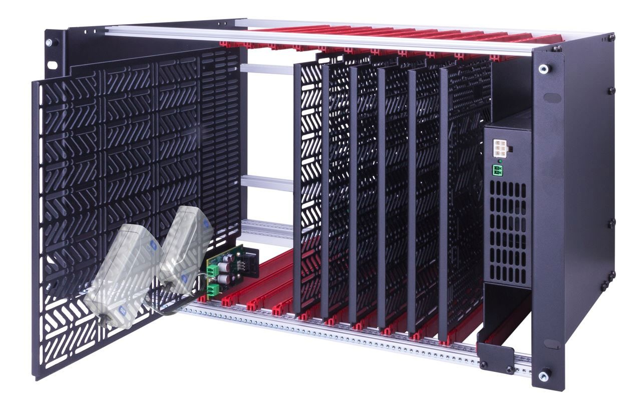 5RU KIT INCLUDES CHASSIS, 6 MODULES AND A 250W POWER SUPPLY