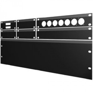 "PANEL  1/2 19"" 3HE  6 X UJP 230V 16A F CHASSIS"
