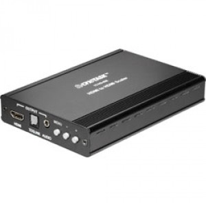 HDMI SCALER WITH AUDIO BREAKOUT AMPERS DELAY