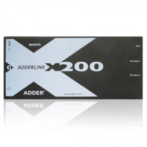ADDER CAT-X200 USB KVM + AUDIO