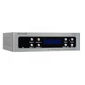 4X1 HD SWITCHER W/ AUDIO DECODING (DISCONTINUED)