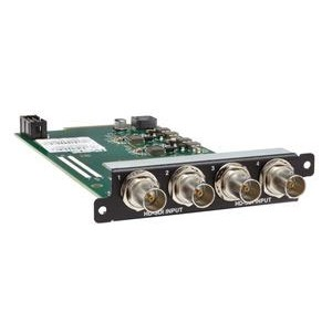 INPUT MODULE 4X HD/SD-SDI VIA BNC
