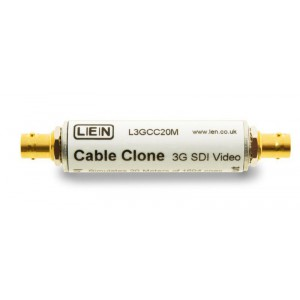 3G SDI CABLE CLONE, EQUIVALENT TO 20 M OF BELDEN 1694A