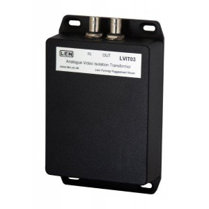 VIDEO ISOLATION TRANSFORMER, ANALOGUE, FIRE-SAFE HOUSING