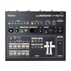 ROLAND V-40HD - MULTIFORMAT VIDEO SWITCHER